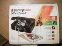 New In Box 1160 Sentry Safe Media Security Fire Box