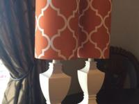 This ad is for a Set of 2 NEW! Boudoir/Table Lamps.