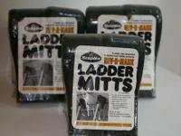 New unopened sets of ladder mitts, Flexible hard foam