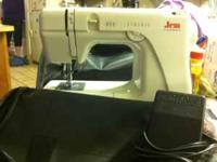 Janome Sewing machine in great condition! I only used