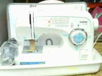 Brand new with carry case Brother XL 3750.  Location: