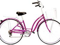 *** Great style / quality 7speed Hybrid Cruiser Bike