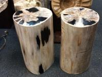 New Delivery Fossil Timber Seats. Beautifully