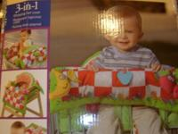 3 in 1 Infantino Shop & Play. It's a shopping cart