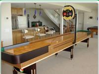 Premium Grade Maplewood Shuffleboard. Never used with a