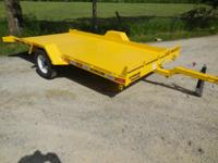 SideKick Tilt Trailer two in stock 76x12 SideKick Tilt