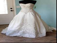 New floor model wedding dress! Half off retail price of