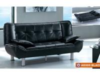 This NEW Sofa Bed is available in Beige, Black, Brown,