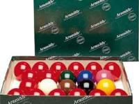 New Set of Snooker Pool Balls Set goes for $150 Asking