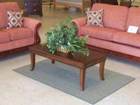 New Sofa and Loveseat group with pillow back. The