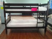 SOLID WOOD KID SIZE BUNKBEDS STARTING AT $199   GREAT