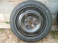 For sale is a spare tire 4Bolt:.  Firestone T115/70/D14