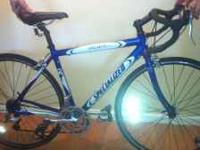 I have a like new 52 cm Specialized Allez Road Bike for