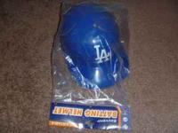 NEW DODGERS ADJUSTABLE HELMET COMES WITH NUMBER