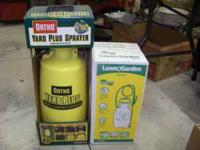 New sprayers  $12 ea. Location: Henderson
