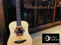 Acquire this Stunning Luna Trip Guitar consists of case