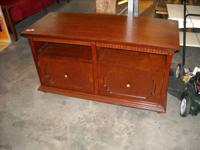 """New St Paul level panel tv stand. $249.99. 48""""w 26""""h"""