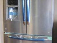 Beautiful Frigidaire 26 Cu.Ft. stainless-steel