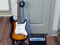 Beautiful, almost new Starcaster Electronic Guitar with