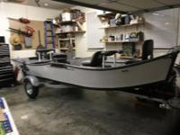 New StealthCraft 16x42Power Drifter Boat 68 inches at