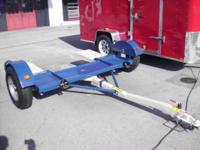 heavy duty tow dolly 14 inch tires powder coated
