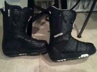 I have a brand new pair of Burton Moto boots size 7. My