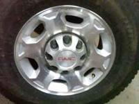 theses are 17 in 8 lug gmc wheels off a 2010 rims are