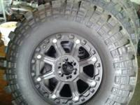 "15-42-20 New Super Swampers, New Gear Wheels 6 lug 20"","