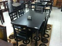 Brand new table and 6 chairs for only $349!!!   WHO:
