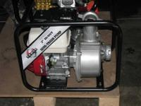 "NEW Tahoe TPI 6533 Pro. Series Trash Pump 3"" in/out"