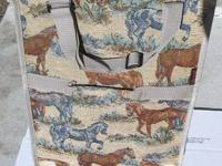 THIS IS A REALLY NICE TAPESTRY BAG WITH NICE PICS OF