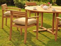 Featuring all new Outdoor Teak sets.  NOW OVER 200