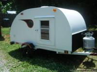 New Tear Drop Tag Along Camper on 4' x 8' frame. New