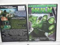 The Hulk DVD (NEW) 2 disc special edition .Call