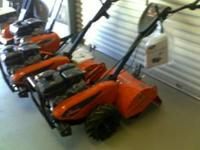 New tillers in stock! Ariens 6hp subaru-Front tine