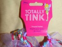 Hello, we have a New Tinkerbell ponytail holder with