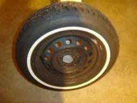 tire is new bought at ntb for spare never used,size