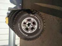 New set of 4 BFG All Terrain T/A 3 Ply Tires