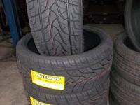 "NEW TIRES 22"" 265/35R22 $100 EACH NEW WITH LABELS"