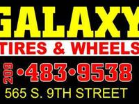 Galaxy Tires & Wheels 565 S 9th St Modesto, CA 95351