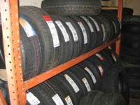 We have a big selection of new tires for ur car at low