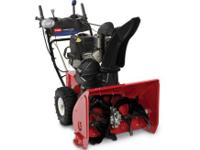 The Power Max 1028OXE, 2-stage snowblower, is built