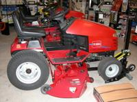 "New Toro Hydro Drive Garden Tractor with 48"" deck This"
