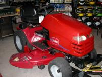 "New Toro Hydro Drive Garden Tractor with 48"" deck"