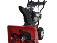 NEW Toro 826 OTE Snow Blower Fully Assembled, Delivered