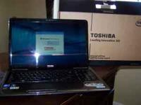 I have a NEW Toshiba Laptop still in the box. This