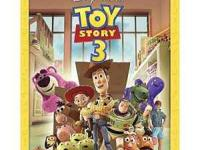 New, shrink wrapped, unopened pack Toy Story 3 - 4 Disc
