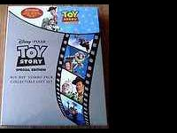 Toy Story dvd/blu ray combo gift set, including 2 discs