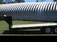 New 2011 7x16 12k equipment trailer We Build them,