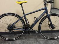 New Trek - Internal lighting/disc brakes - NEW Trek